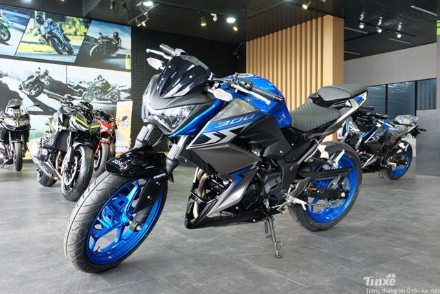 Kawasaki Z300 2018