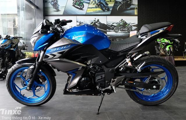 Bình xăng Kawasaki Z300 2018