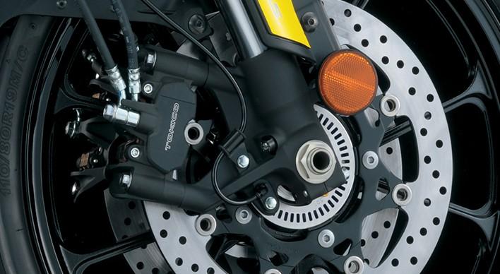 Hệ thống treo trên Suzuki V-Strom 1000 ABS