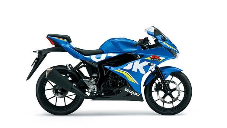 Suzuki GSX-R150 2018 có thiết kế sportbike