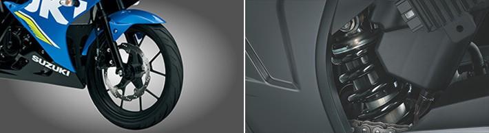 Hệ thống treo trên Suzuki GSX-R150