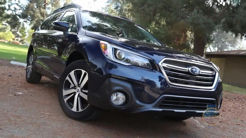 Subaru Outback 2018 có một chút thay đổi nhẹ trên khía cạnh ngoại thất