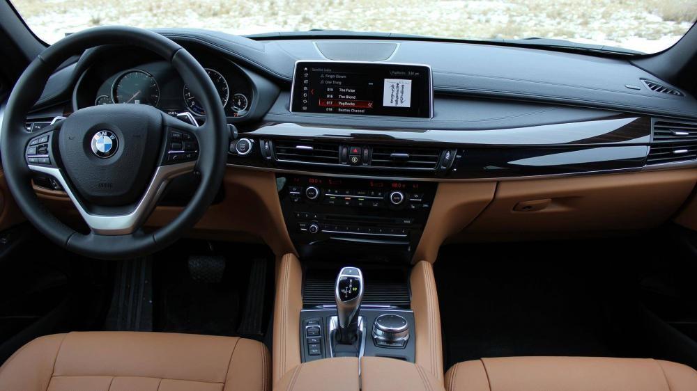 Nội thất xe BMW X6