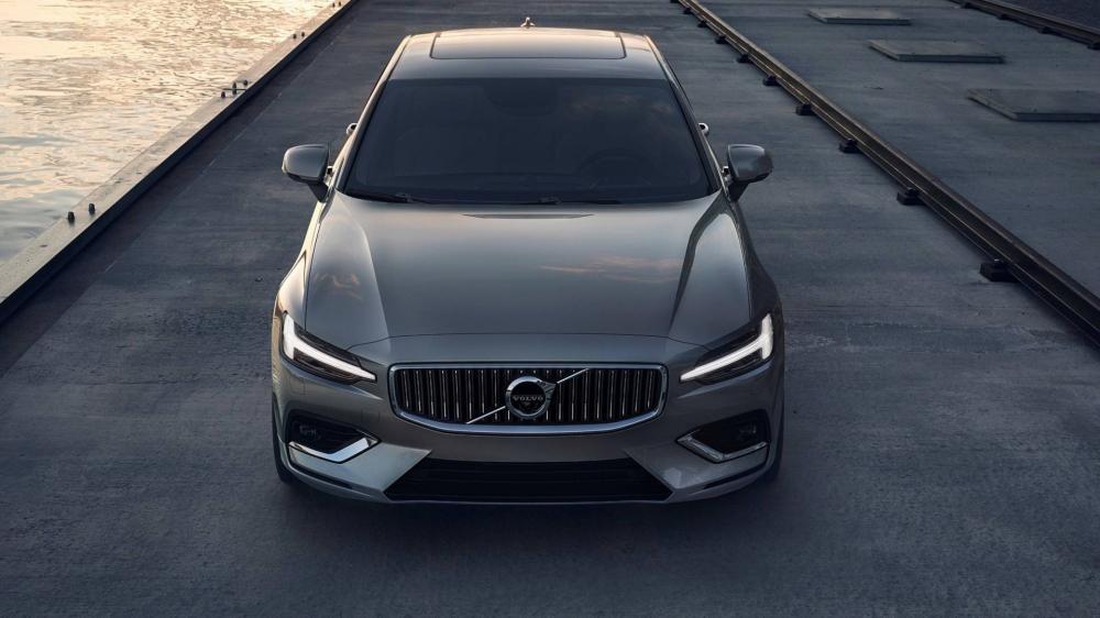 Cận cảnh đầu xe của Volvo S60 2019