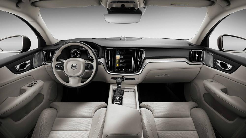 Nội thất cao cấp bên trong Volvo S60 2019