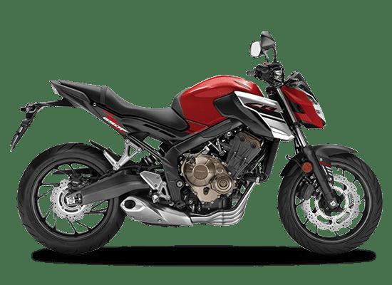 Mẫu Honda CB650F màu đen đỏ
