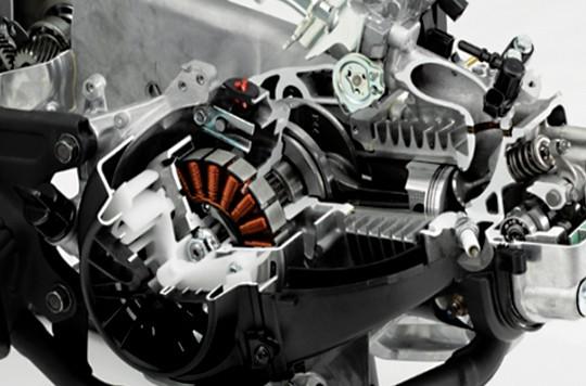 Trang bị động cơ của xe Honda Vision