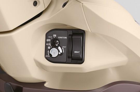 Thiết kế ổ khóa của Honda Vision