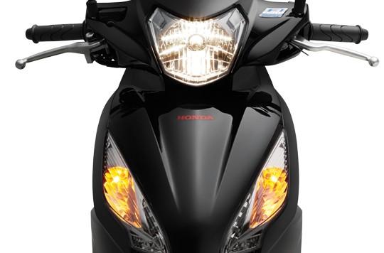 Thiết kế mặt trước của xe Honda Vision