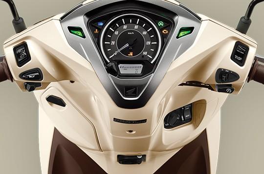 Thiết kế mặt đồng hồ của Honda Lead