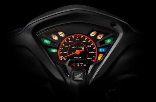 Thiết kế mặt đồng hồ Honda Wave RSX