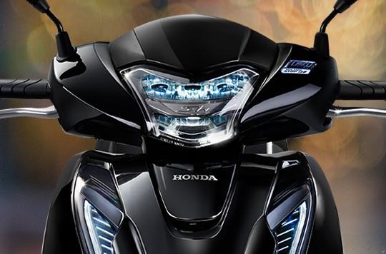 Thiết kế đầu xe Honda SH