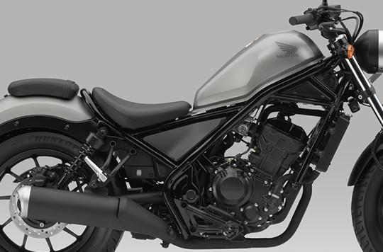Thiết kế ngoại hình Honda Rebel 300