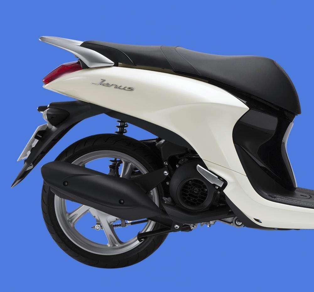 Thiết kế đuôi xe Yamaha Janu