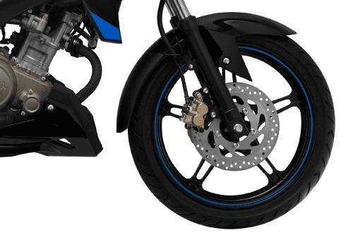 Trang bị bánh xe Yamaha FZ150i