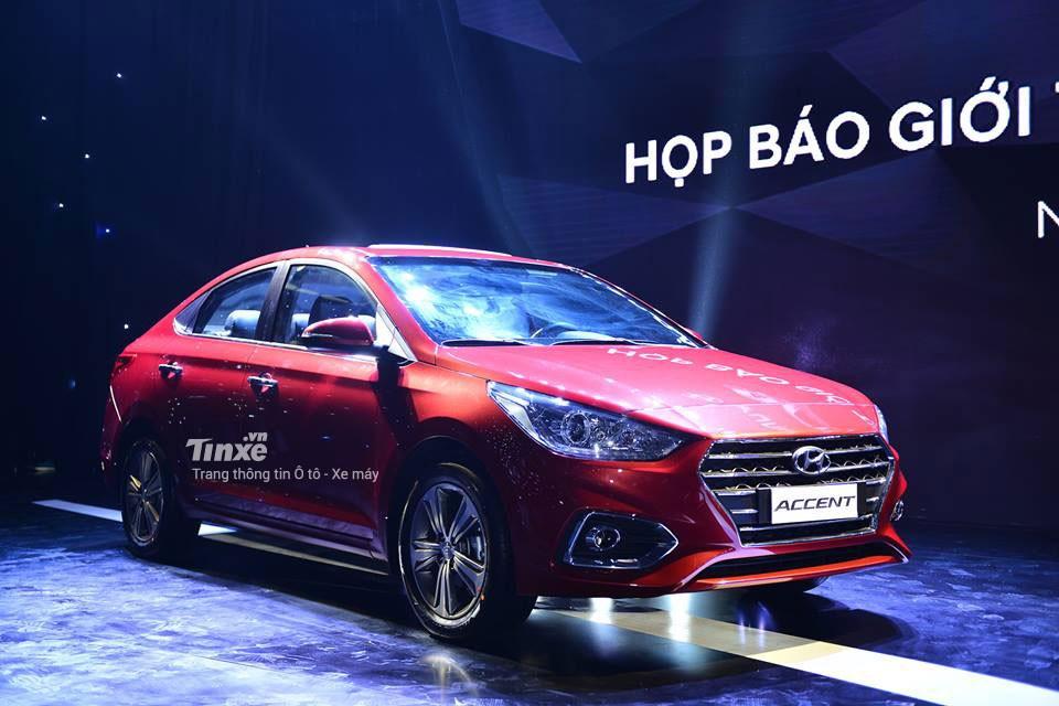 Hyundai Accent 2018 tại sự kiện ra mắt thị trường Việt Nam
