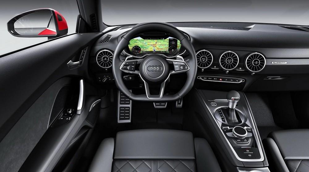 đanh Gia Nhanh Audi Tt 2019 Trang Bị Tốt Ngay Từ Bản Tieu Chuẩn
