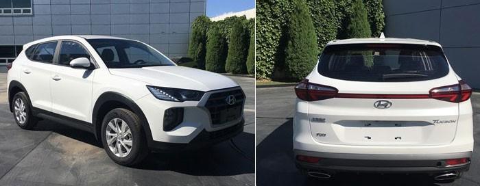 Hình ảnh rò rỉ của Hyundai Tucson 2019 dành cho thị trường Trung Quốc
