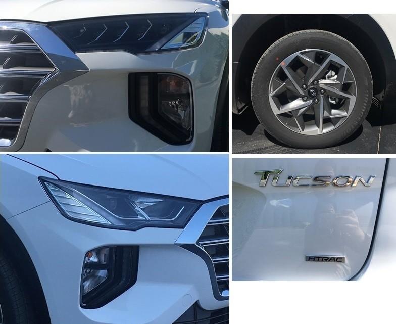 Hyundai Tucson 2019 cũng được trang bị hệ thống đèn 2 tầng