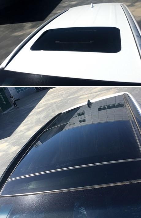 Cửa sổ trời của Hyundai Tucson 2019 tại Trung Quốc