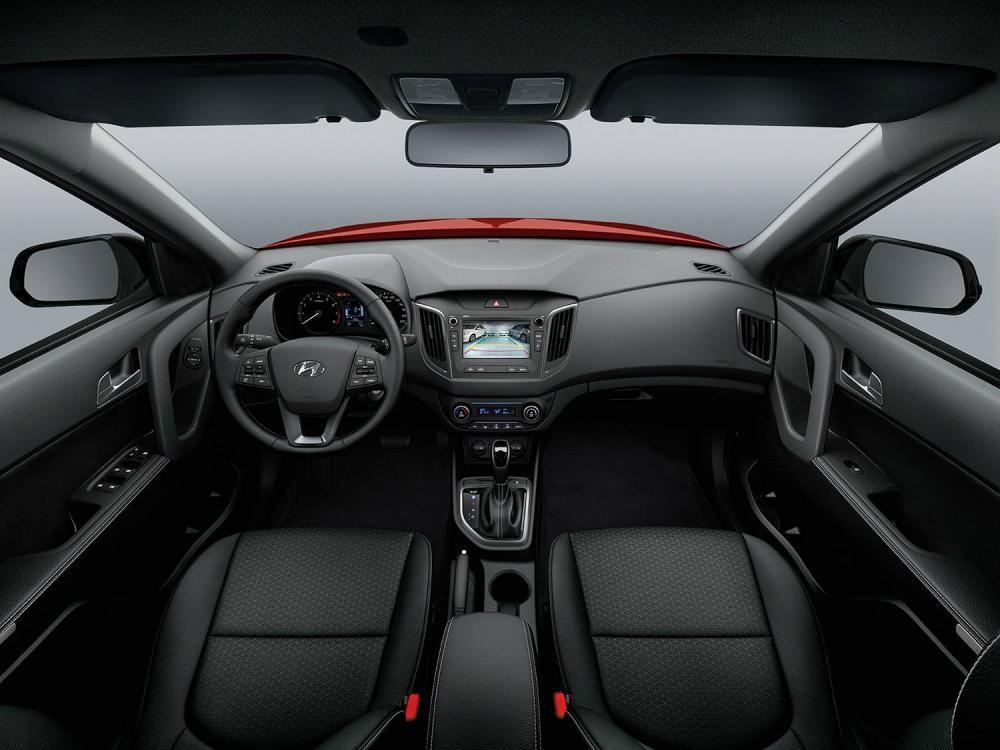 Nội thất của Hyundai Creta Sport 2019