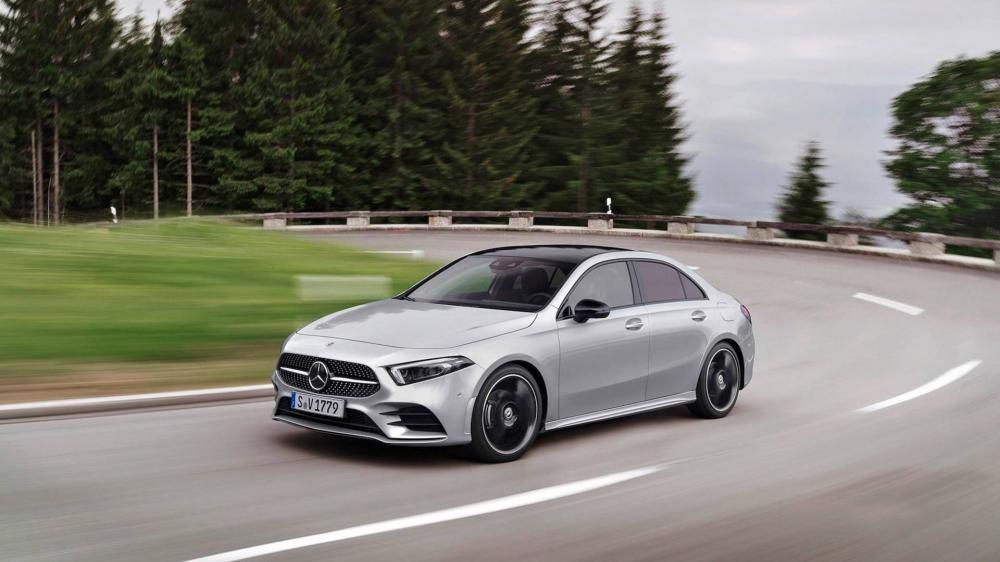 Mercedes-Benz A-Class Sedan 2019 ra mắt