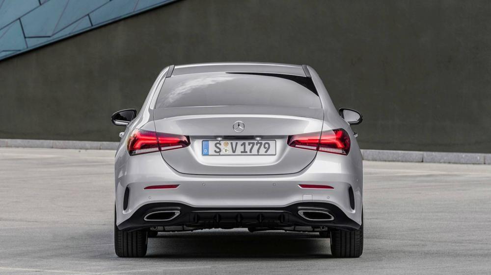 Cụm đèn hậu mới của Mercedes-Benz A-Class Sedan 2019
