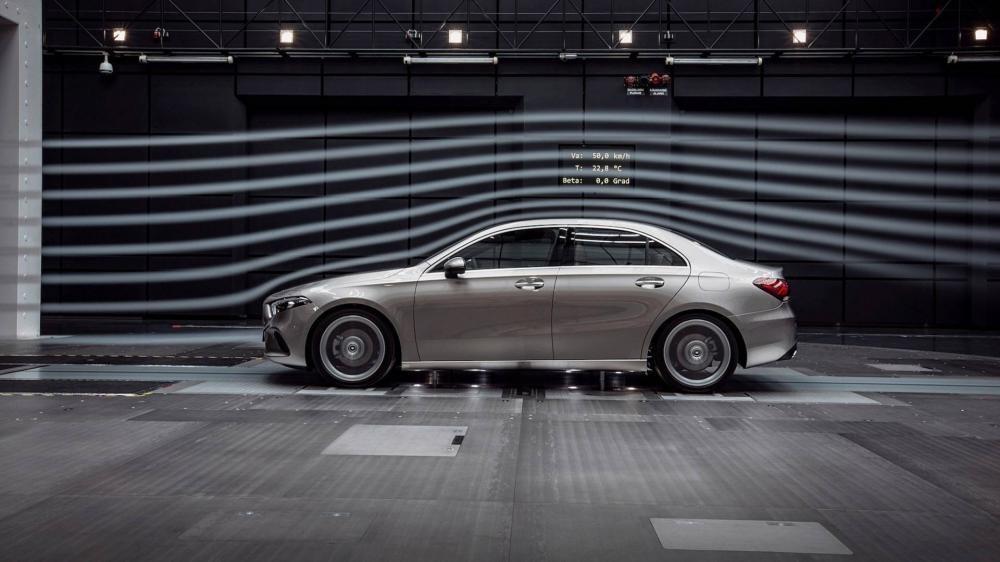 Mercedes-Benz A-Class Sedan 2019 có hệ số lực không khí thấp