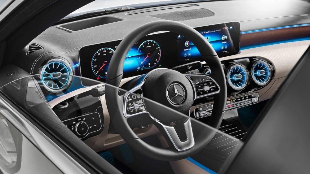 Cận cảnh vô lăng của Mercedes-Benz A-Class Sedan 2019