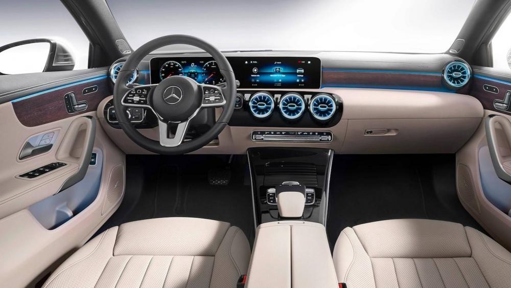 Nội thất bên trong Mercedes-Benz A-Class Sedan 2019