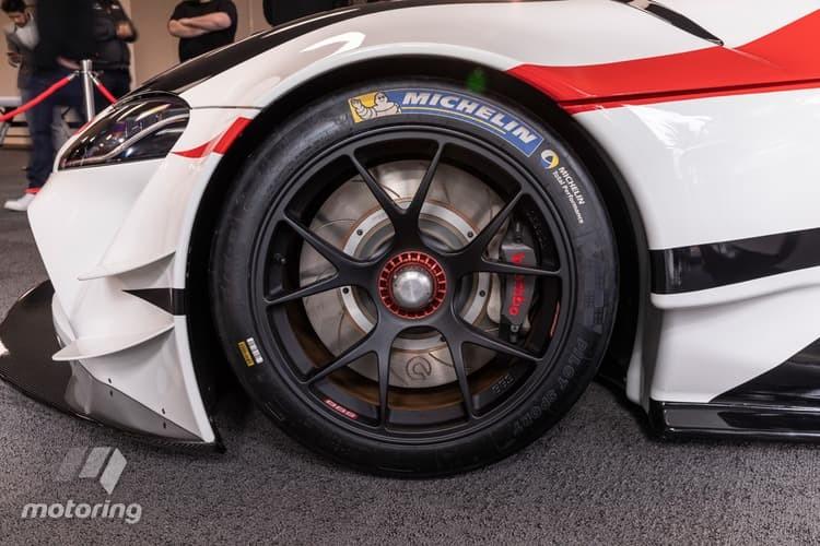 Cận cảnh bộ vành của Toyota GT Supra Racing Concept