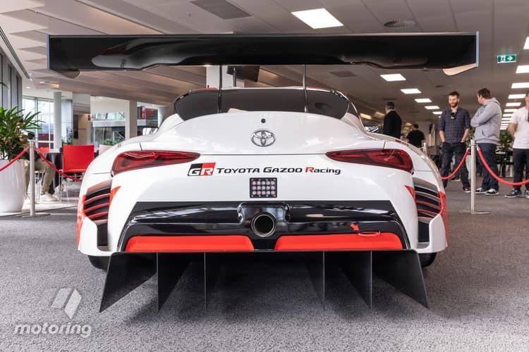 Toyota GT Supra Racing Concept sở hữu thiết kế đậm chất xe đua