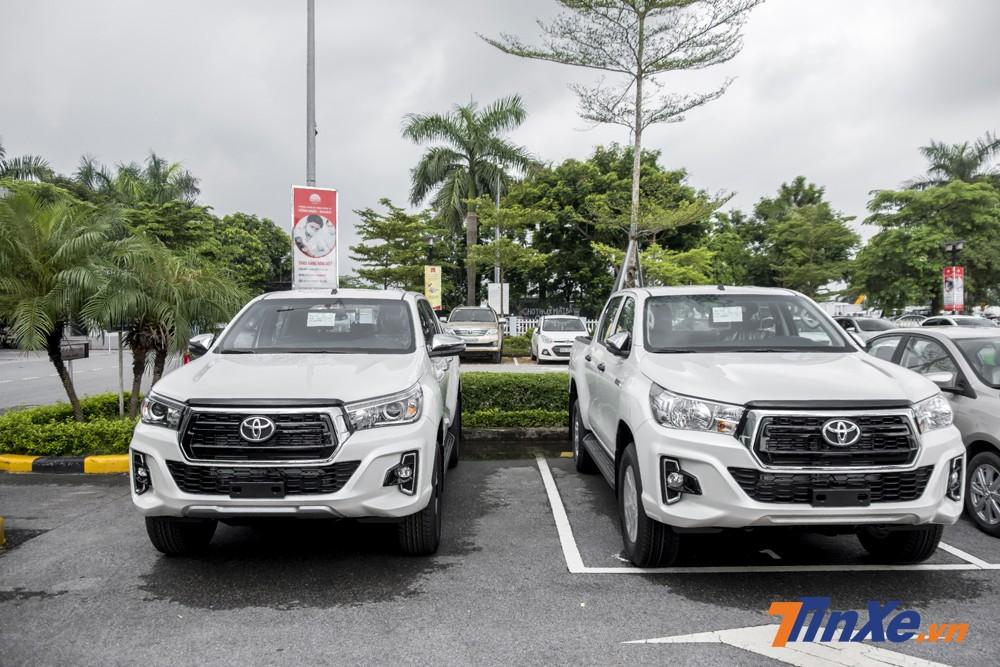 Toyota Hilux 2018 đã chính thức được phân phối tại Việt Nam.