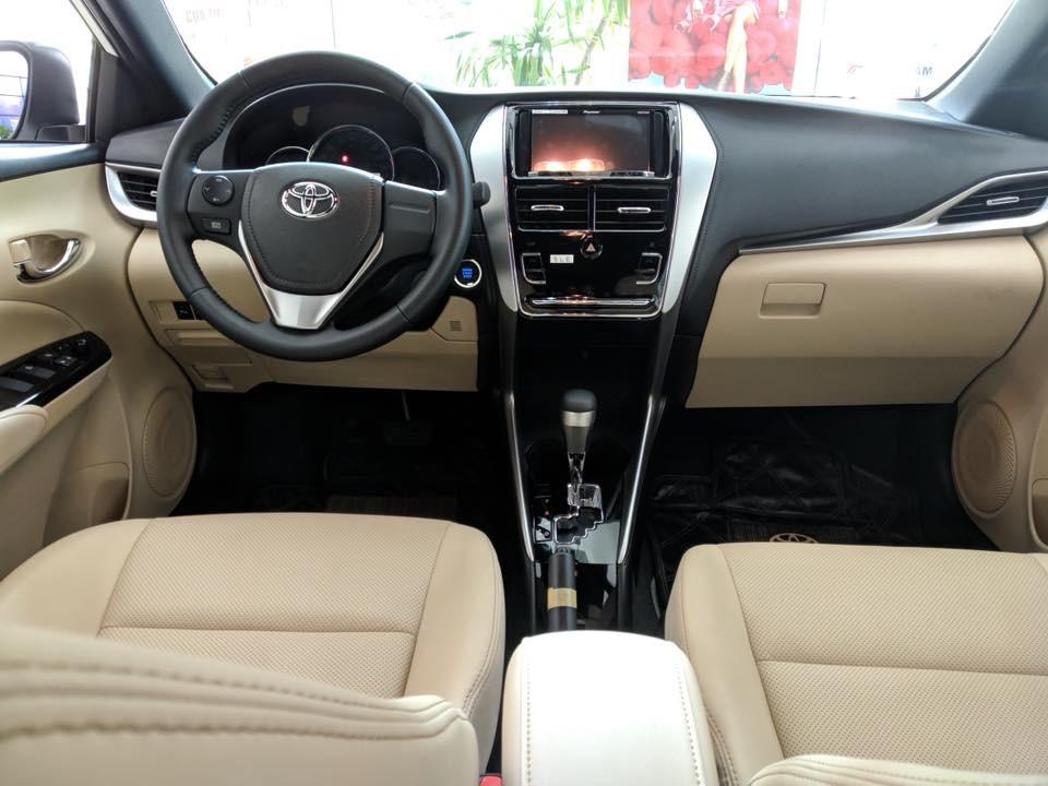 Nội thất của Toyota Yaris 2018