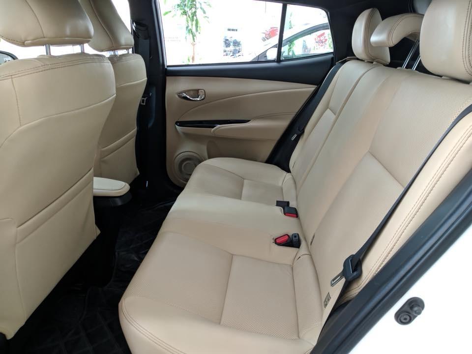 Hàng ghế sau của Toyota Yaris 2018