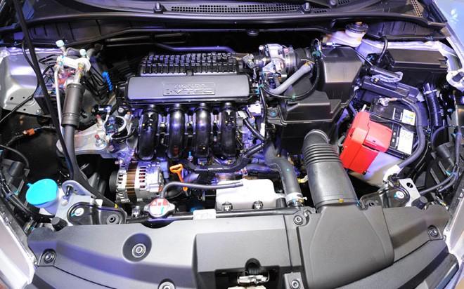 Trang bị động cơ của Honda City