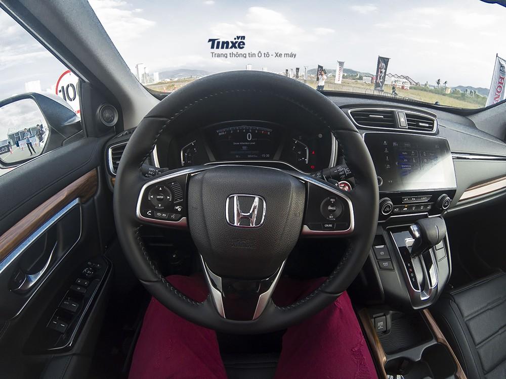 Thiết kế nội thất của Honda CR-V