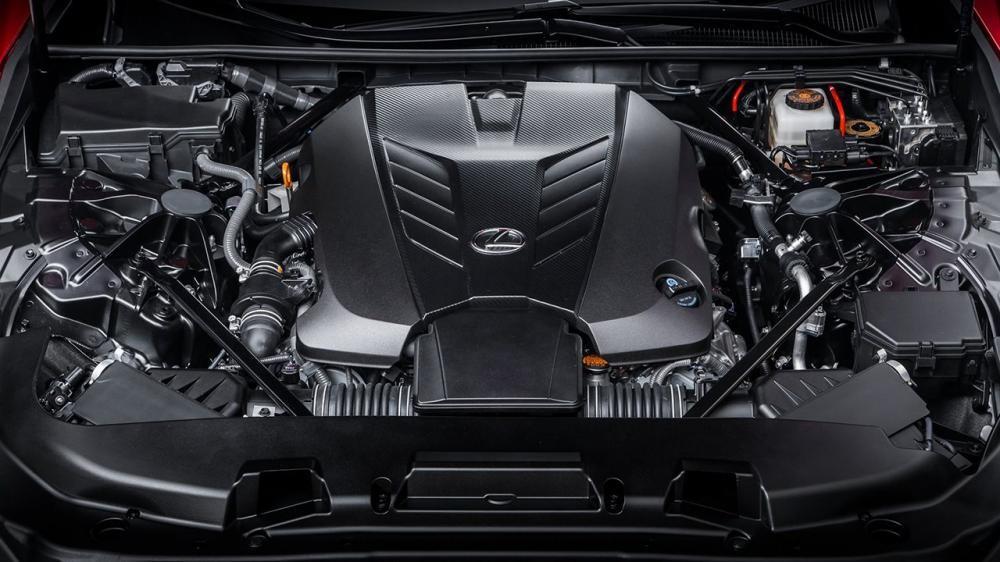 Trang bị động cơ Lexus LS