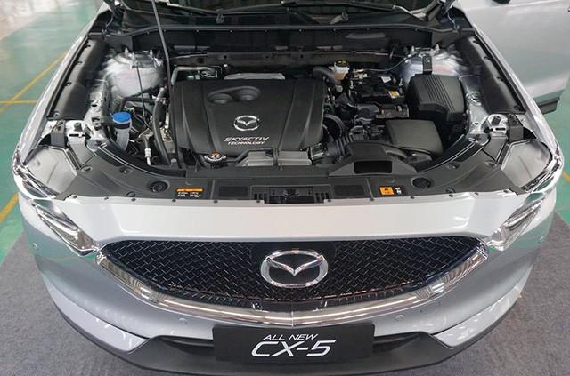 Trang bị động cơ của Mazda CX-5