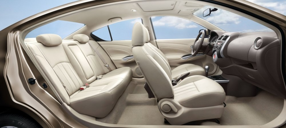 Thiết kế nội thất Nissan Sunny