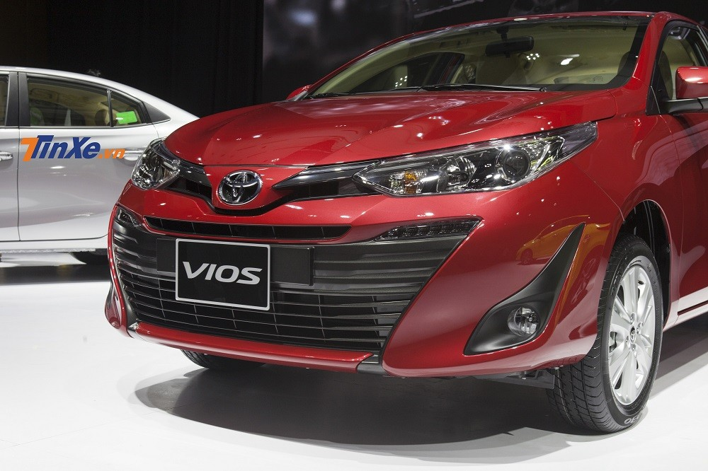 Toyota Vios 2018 chính thức ra mắt, giá lên kệ từ 531 triệu đồng