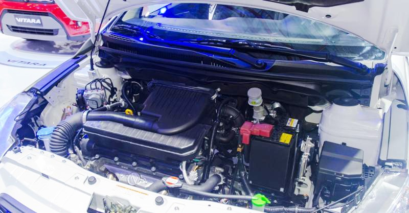 Trang bị động cơ Suzuki Ciaz