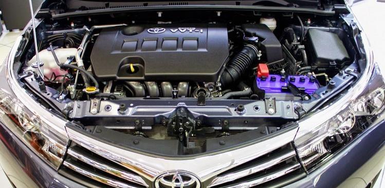 Trang bị động cơ Toyota Corolla Alti