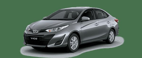 Ngoại thất Toyota Vios màu đen