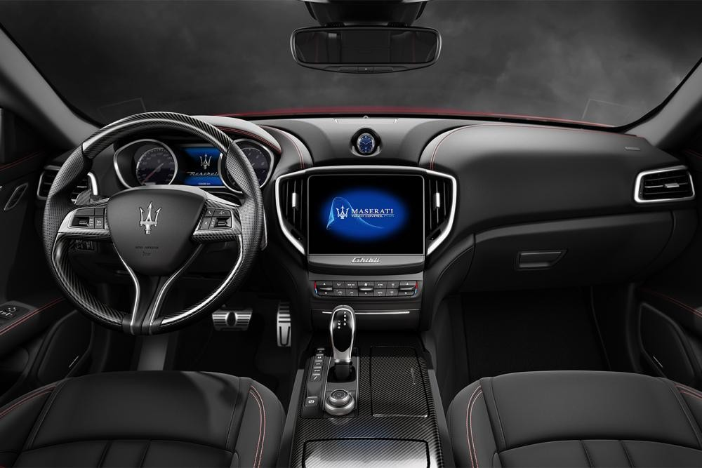 Thiết kế nội thất Maserati Ghibli