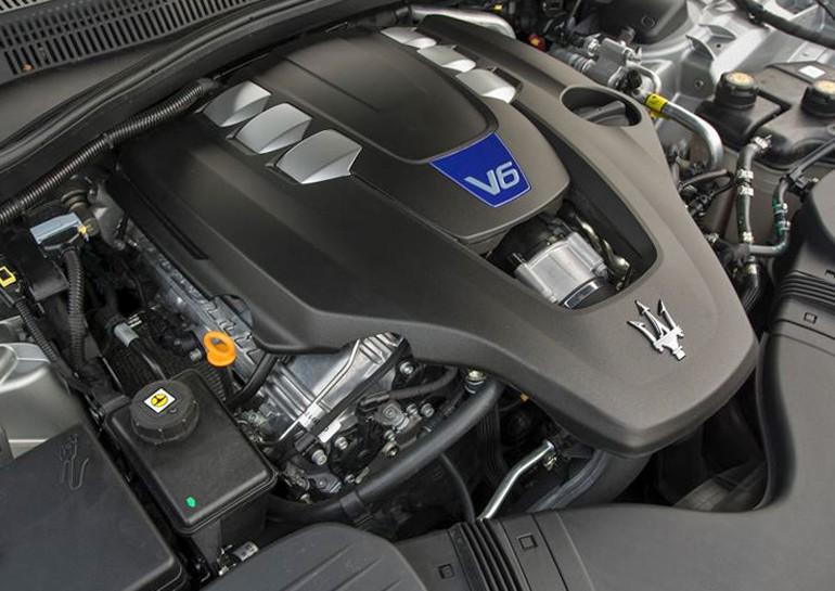 Trang bị động cơ Maserati Ghibli