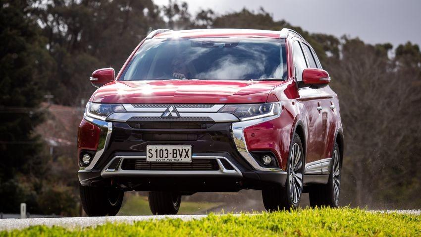 Mitsubishi Outlander 2019 đã ra mắt tại thị trường Úc