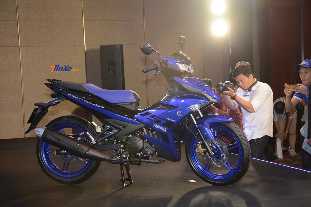 Phanh trước và sau của Yamaha Exciter 150 2019 có đường kính lần lượt là 245 mm và 203 mm