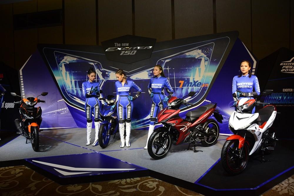Yamaha Exciter 150 2019 ra mắt Việt Nam với giá bán từ 46,99 triệu đồng