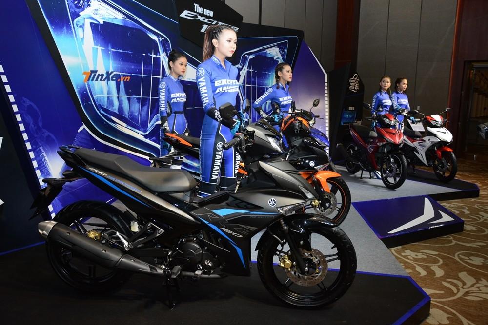Yamaha Exciter 150 2019 ra mắt Việt Nam có 2 phiên bản và tất cả là 5 màu sắc